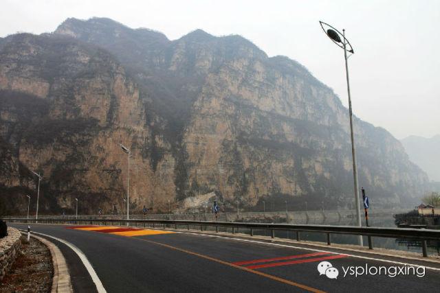 """野三坡景区旅游公路再美容,打造""""天下第一路"""""""